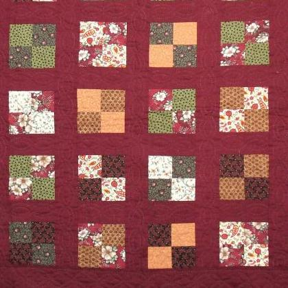 tracy's first quilt