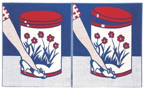 Tate-Modern-Lichtenstein-Retrospective-Love-3